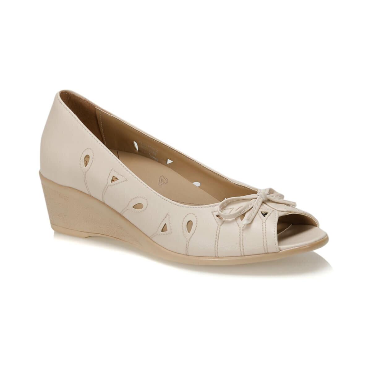Flo 81.111142.z sapatos femininos bege polaris 5 ponto