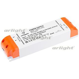 016243(1) Power Supply Arv-12075-pfc (12V, 6.25a, 75W) Arlight Box 1-piece