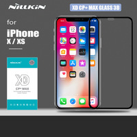 Nillkin for iPhone XS X Glass XD CP+ Max 3D Tempered Glass Safety Protective Screen Protector for iPhone X XS Nilkin Glass Film