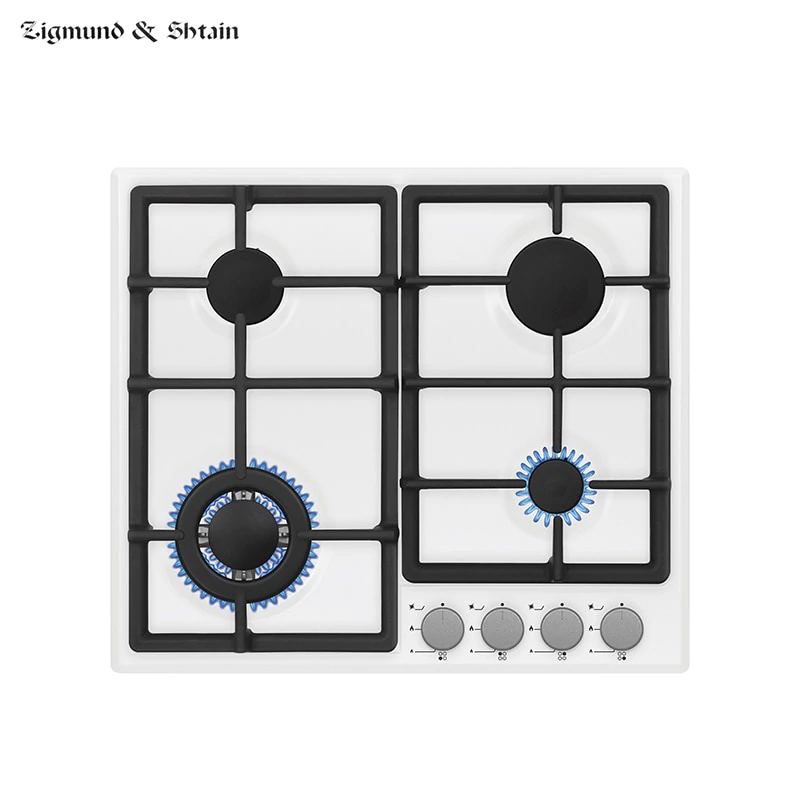 Bulit-in Gas Hobs Zigmund & Shtain GN 238.61 W Cooking Unit Panel Surface