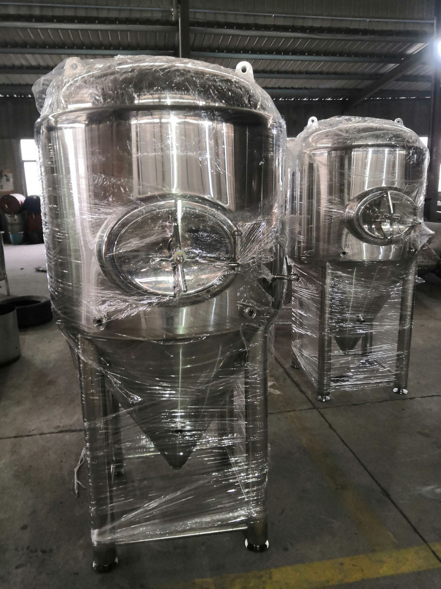 610L Double Wall  3 Bar Brew Conical Beer Fermentation Tanks Micro Brewery Fermentation Tank. Wine Fermenter Stainless Steel 304