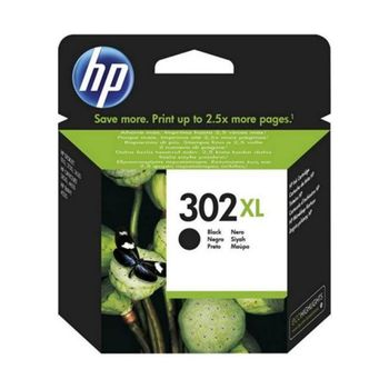Original Ink Cartridge HP 302XL (F6U68AE) Black