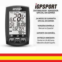 IGPSPORT iGS50E (Spanish Version) GPS cycle computer bicycle bike. Data Recorder and routes. 2,2 . Sensor ANT +. Bluetooth.