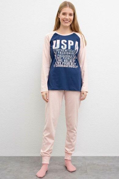 U.S. POLO ASSN. Pink Pajama Set