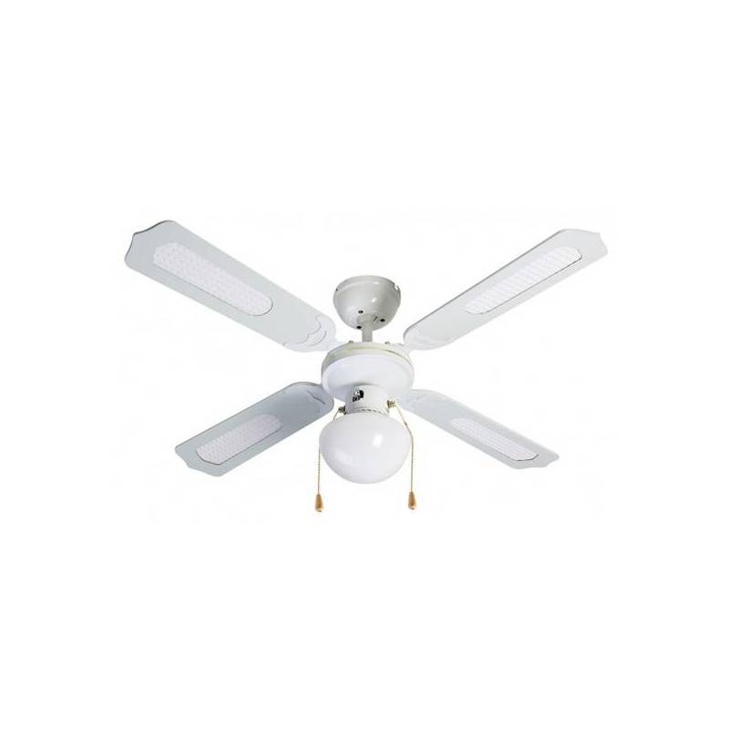 Ceiling Fan With Light Group FM VT-CLASSIC-105B 50W White