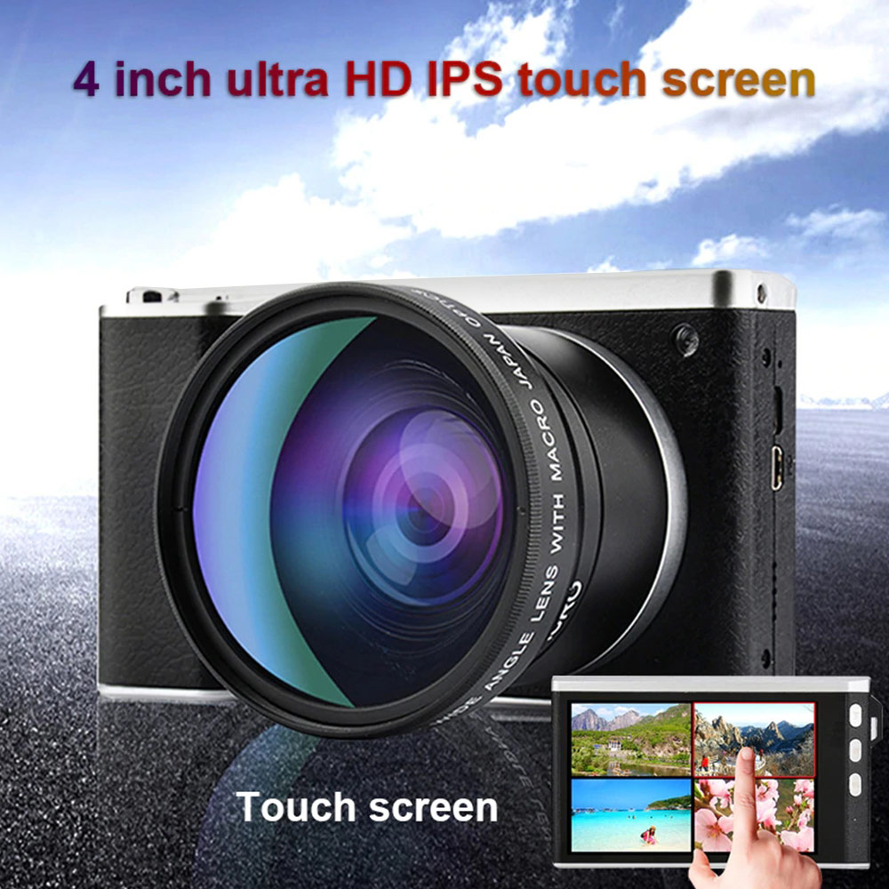 4 Inch Ultra High Definition 24 Million Pixel 1080P 12X Optical Zoom Micro Single Camera IPS Touch Screen SLR Camer