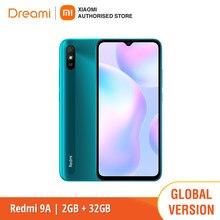 Versão global xiaomi redmi 9a 32gb rom 2gb ram (novo/selado) redmi9, redmi9a 32, smartphone, celular, telefone