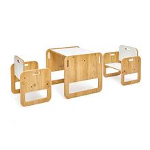 0-2 wiek Montessori Pinky stół i krzesło zestaw drewniana gra dla dzieci stół maluch aktywność biurko meble dla dzieci fotel w kształcie kostki dziewczyny chłopcy tanie i dobre opinie minera TR (pochodzenie) Chair