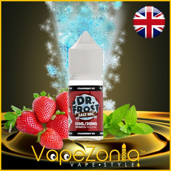 Dr. Frost Salt Nic STRAWBERRY ICE 10 Ml Vape Shop Valencia