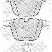 Колодки Задние(Bmw E60/E61/E65/E66/E70/E71) Pn0326 NiBK арт. PN0326