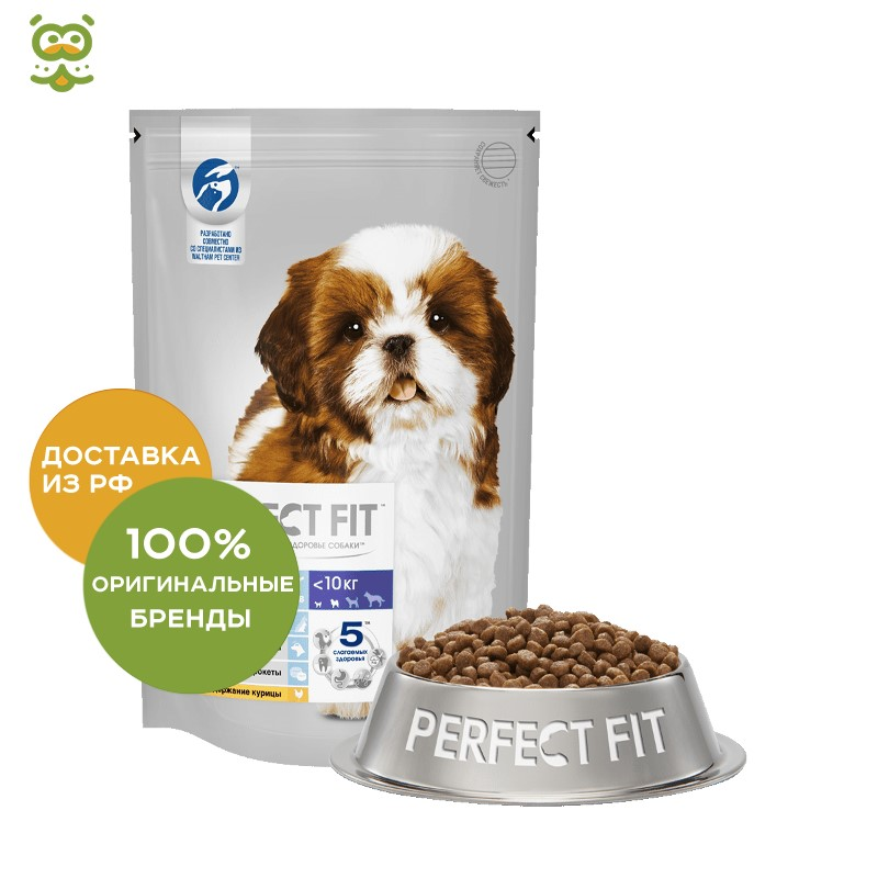 Perfect Fit for puppies small breeds, Chicken, 500g. цена и фото