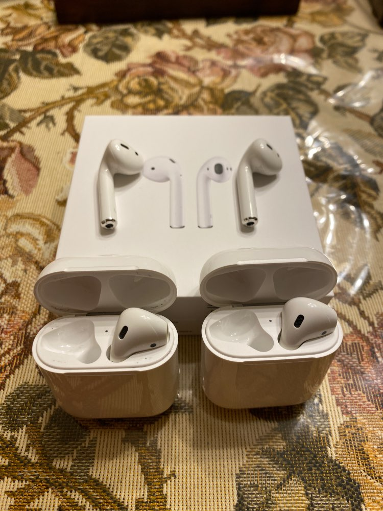 Apple AirPods 2 with Charging Case air pods|Phone Earphones & Headphones| |  - AliExpress