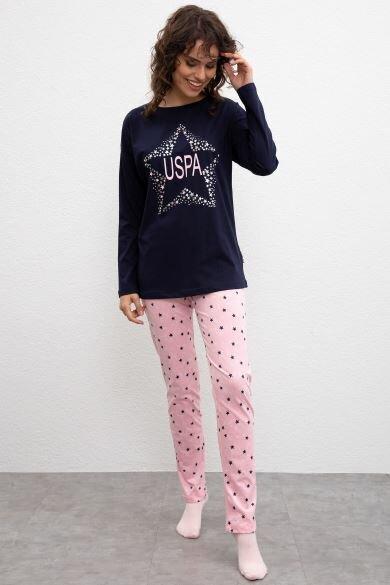 U.S. POLO ASSN. Blue Pajama Set