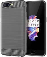 OnePlus 5 case Gray (gray), carbon series, caseport