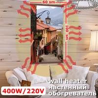 Calentador Flexible pared vacaciones ciudad 400 W (EE 448/2) (K)