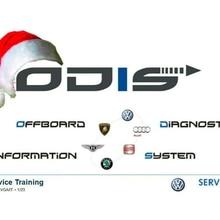 Новый 07,2020 ODIS сервис v6.0.1