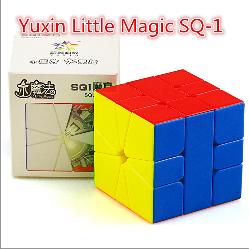 Yuxin Zhisheng Little Magic SQ1 Magnetic Magic Cube Yuxin SQ-1 Magnetic Speed Cube Little Magic Square-1 3x3 Magnetic Magic Cubo
