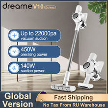 Dreame V10 Handheld Wireless Vacuum Cleaner Smart Home Appliance Portable Cordless Cyclone Filter Carpet Cleaning Dust Collector