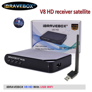 Image 1 - IBRAVEBOX V8 HD استقبال الأقمار الصناعية الرقمية H.264 كامل HD 1080P DVB S2 دعم USB واي فاي يوتيوب اسبانيا استقبال الأقمار الصناعية