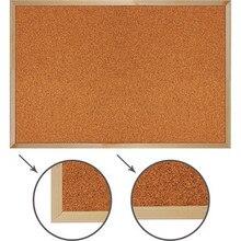 Доска пробковая BRAUBERG 236860 деревянная рамка, для объявлений 60x90