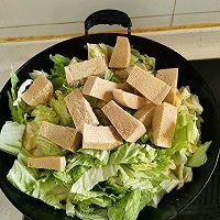 白菜冻豆腐的做法图解5