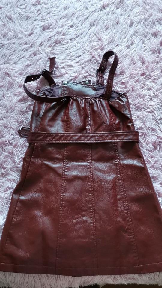 Simplee Fashion Pu Leather Women Dress V Neck Mini Bodycon Sexy Dress Christmas Zipper Autumn Winter Short Dress Ladies Vestido photo review