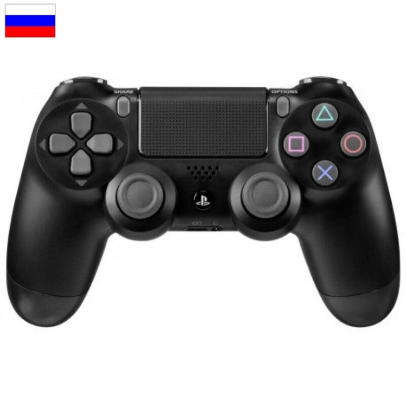 Беспроводной Bluetooth геймпад для PS4, контроллер подходит для IOS, Android, PS4, PC, черный