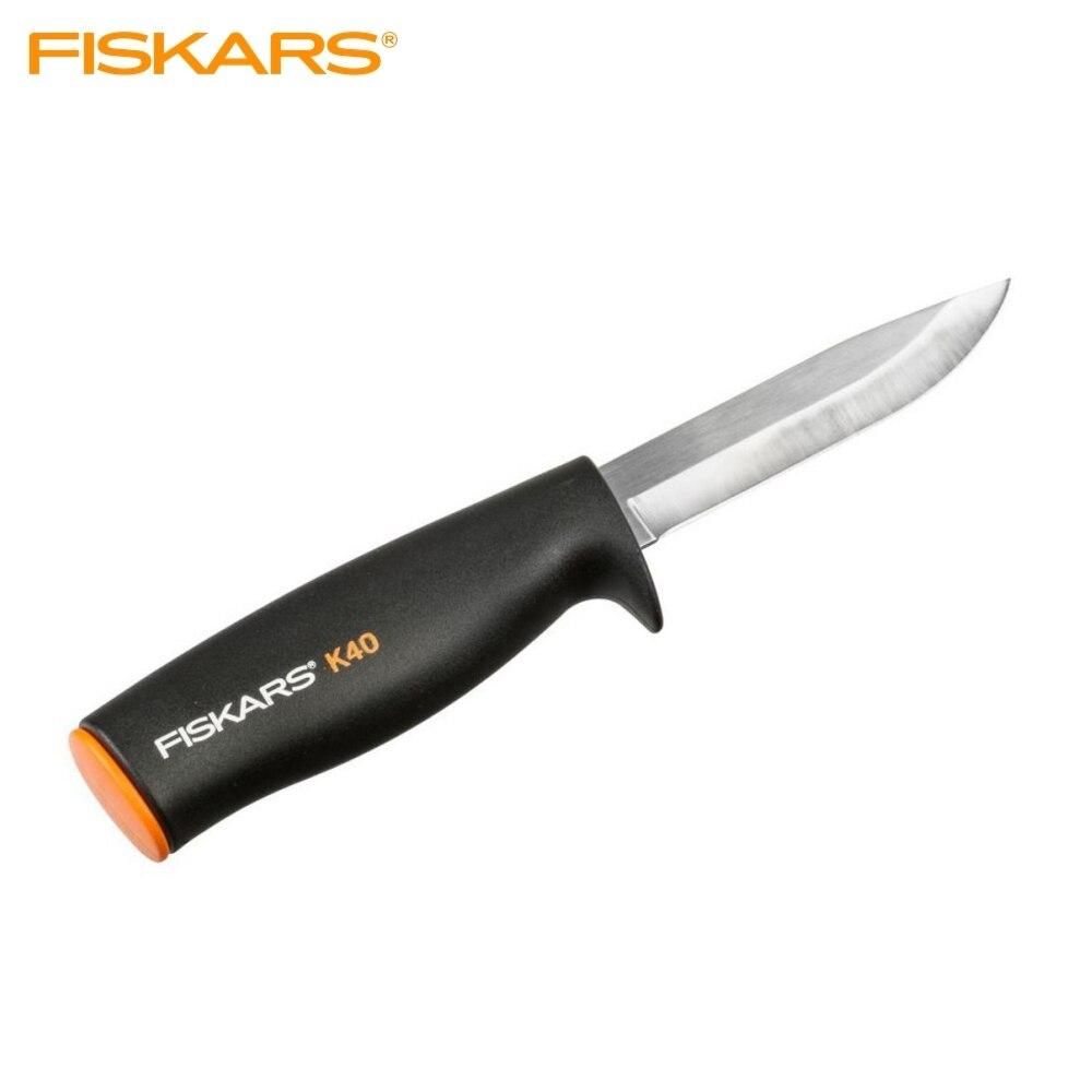 купить Knife general purpose K40 Fiskars Utility Knife Fiskars K40 garden tools по цене 699 рублей