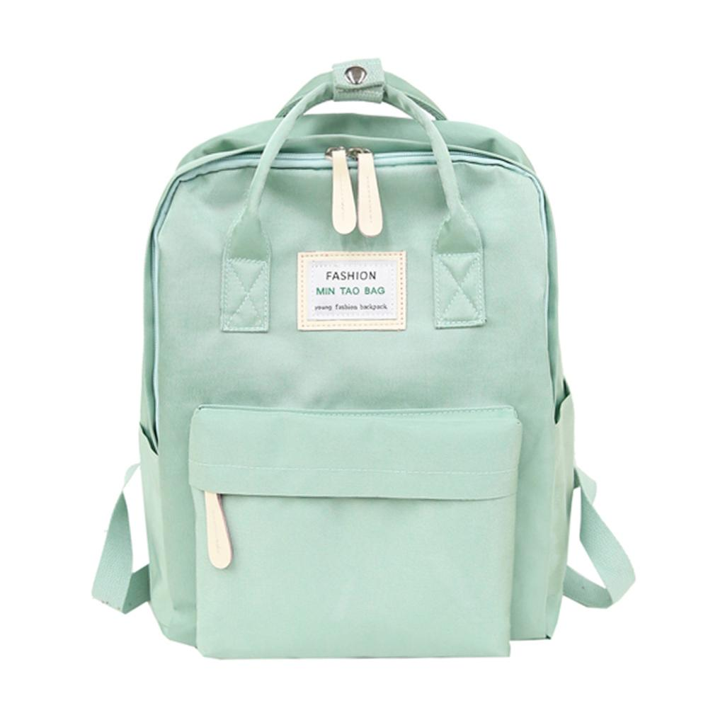 Nylon Waterproof Women Backpack Youth Fashion Backpacks Classic Mochila Feminina Schoolbags Laptop Packs Korean Style Rucksacks