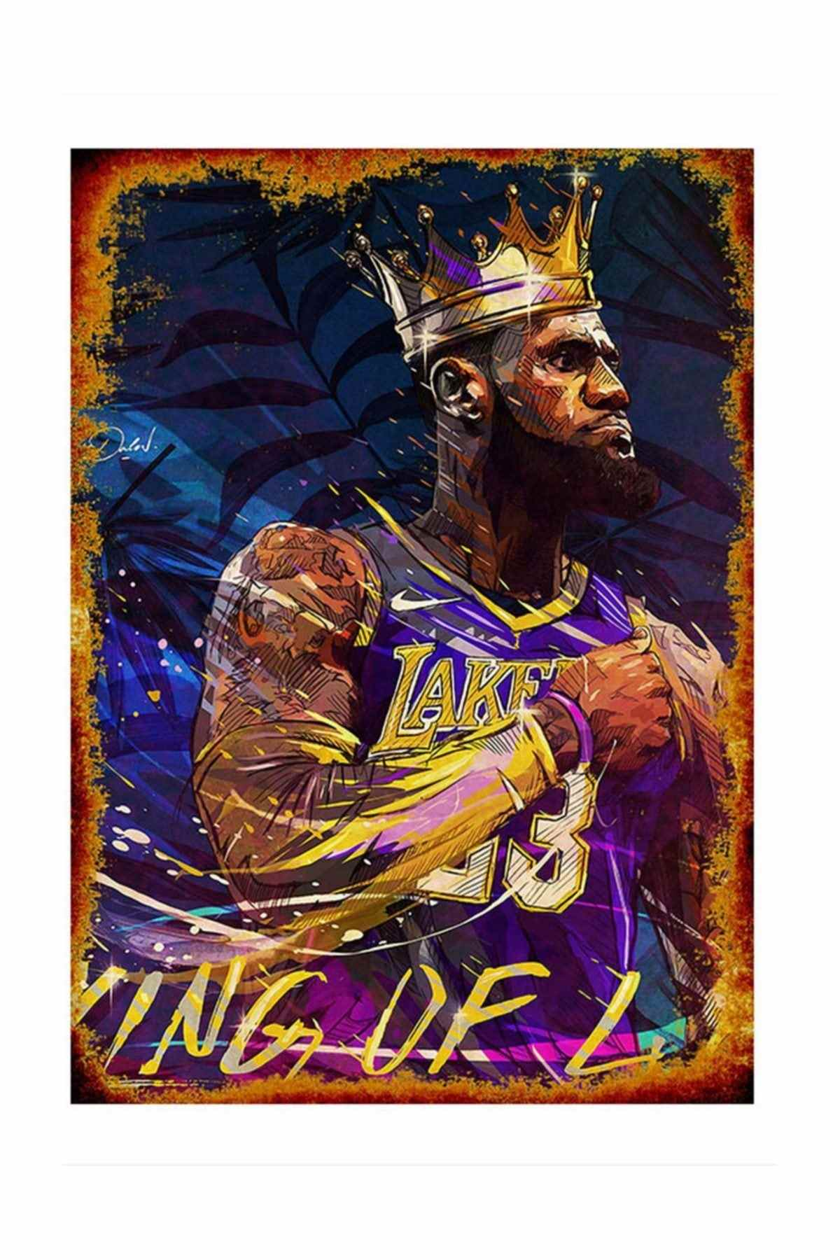 Lebron James Super Basketball Star Silk Poster Decorative Wall Paint 24x36inch Painting Calligraphy Aliexpress