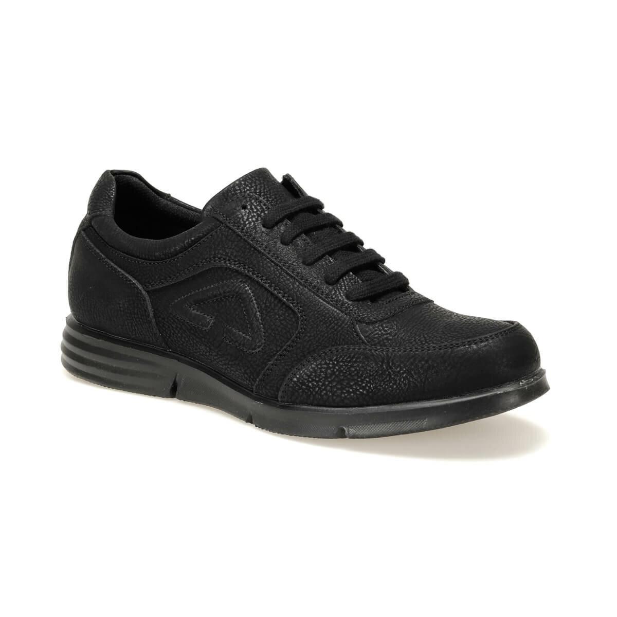 FLO 014-3 C Black Male Shoes Oxide