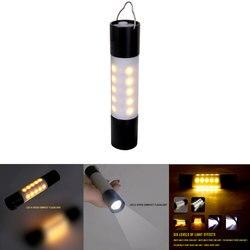 USB 충전식 교수형 손전등 휴대용 방수 Zoomable LED 토치 야간 조명 야외 하이킹 캠핑 텐트 램프