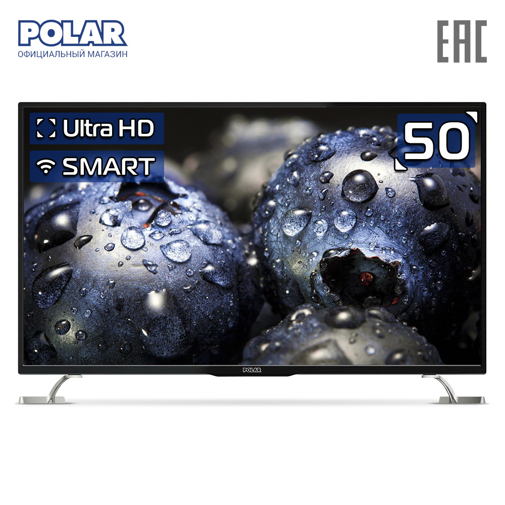 Телевизор 50 POLAR P50U51T2SCSM 4K SmartTV