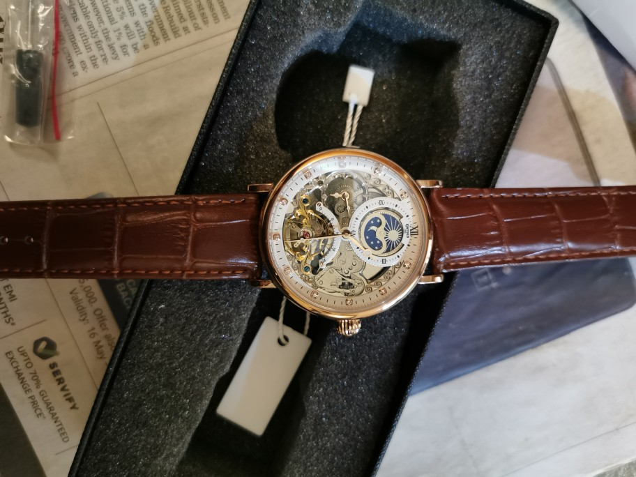 -- Esqueleto Relógios Mecânicos