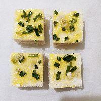 黄油葱香虾蓉吐司块的做法图解4