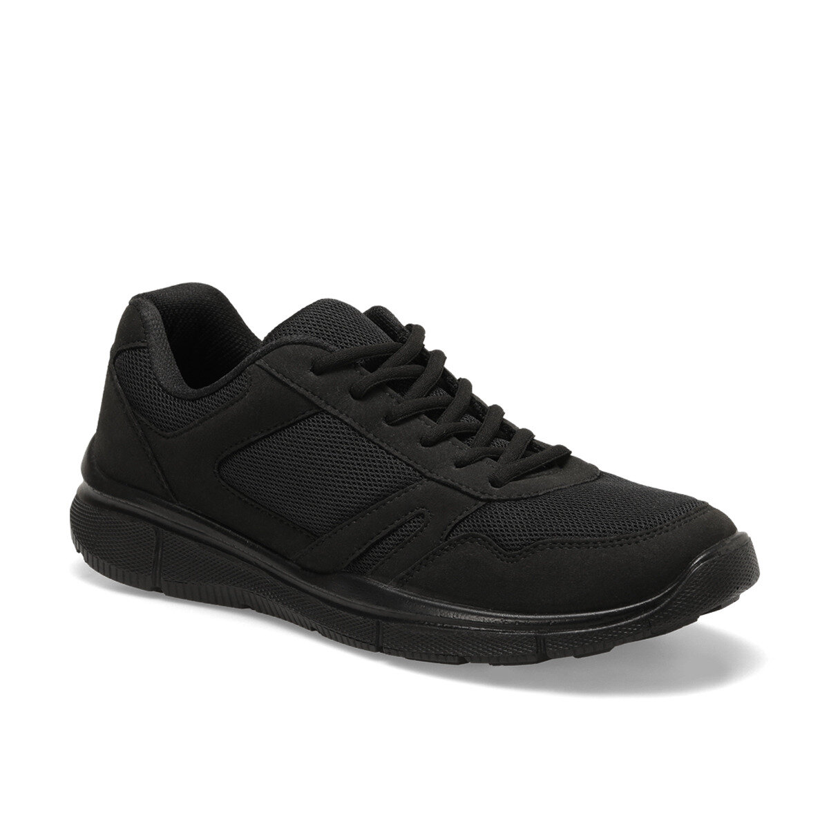 FLO 19015 Black Male Sports Shoes Panama Club