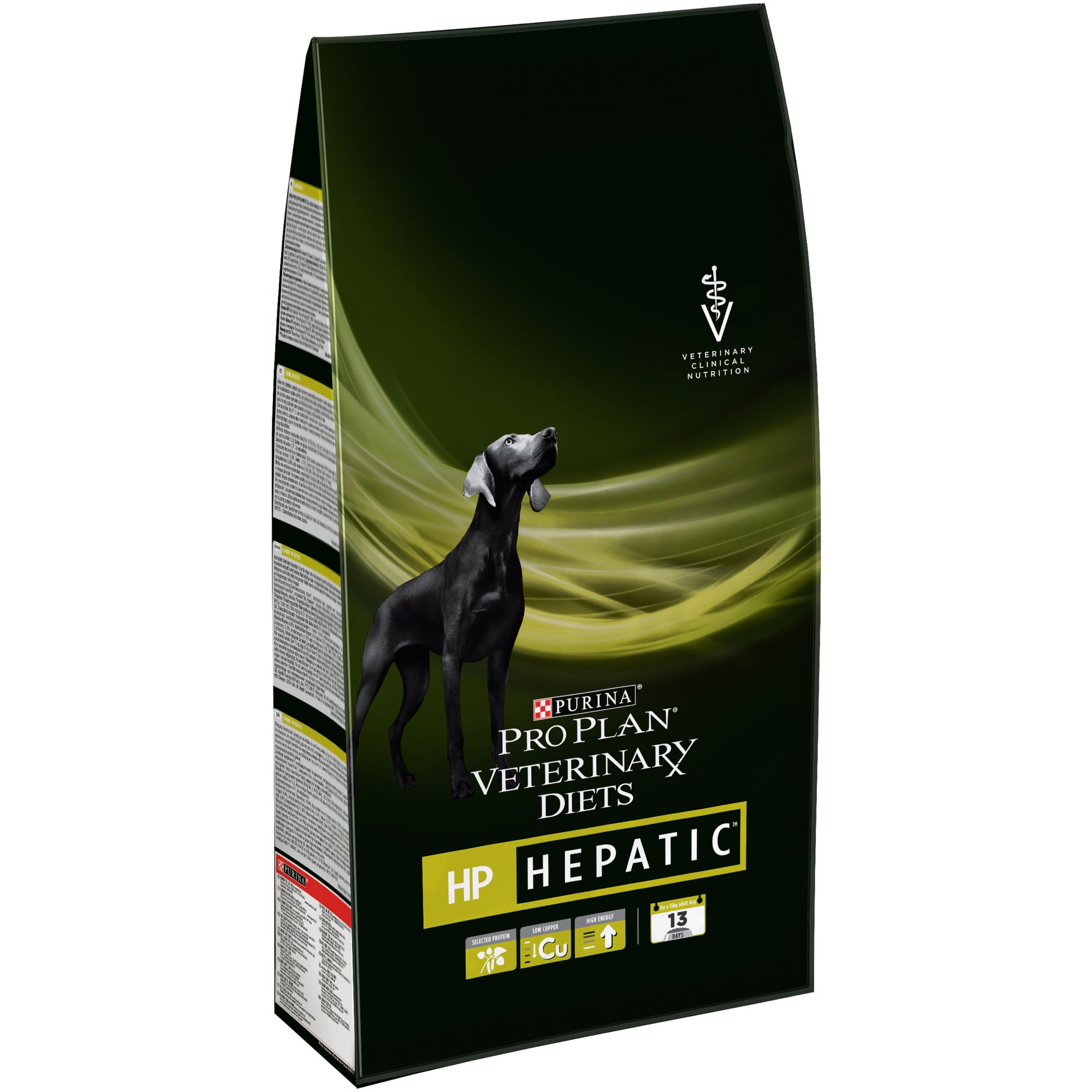 Dry food Pro Plan Veterinary diets HP dog food for chronic liver failure, Package, 3 kg все цены