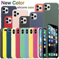 Case Original for Apple iPhone Silicone Case 7/8, 7 + / 8 +, X / XS, XR, XS MAX, 11, 11PRO, 11PRO MAX [Warehouse in Russia] Free