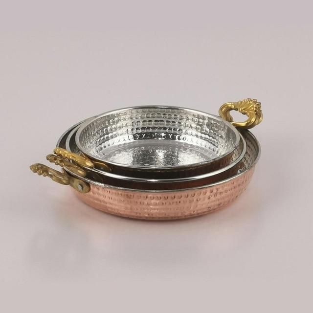 Copper Skillet For Traditional Turkish Menemen  5
