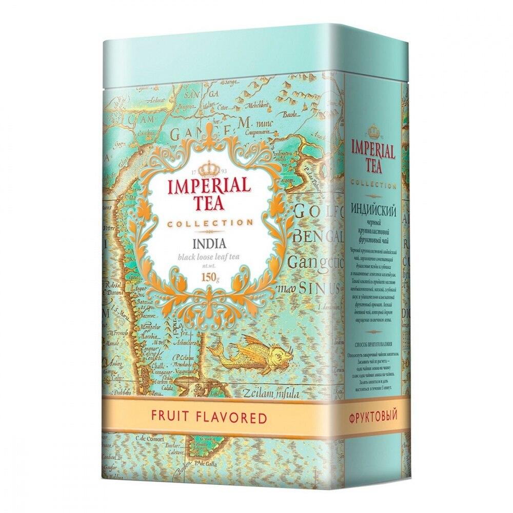 """Чай Imperial Tea Collection """"Фруктовый"""", черный с добавками, 150 гр        АлиЭкспресс"""
