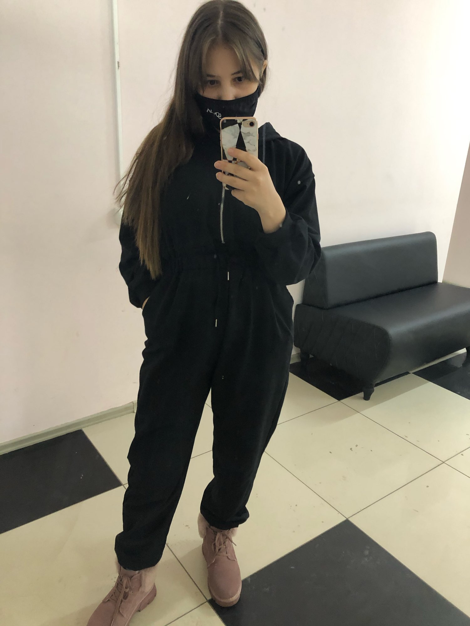 2019 Spring Casual Black White Grey Color Women Jumpsuit Do Exercise Elastic Waist Female Playsuit|Jumpsuits|   - AliExpress
