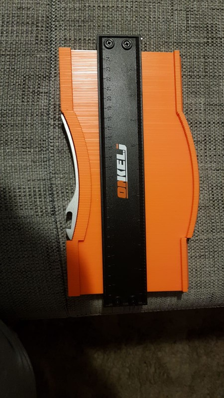 Contour Gauge Duplicator with a lockset, Measuring Tool photo review