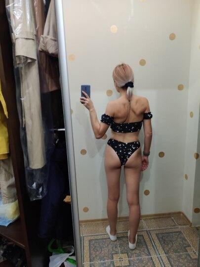 2020 Floral Off Shoulder Bikini Female Swimsuit Women Swimwear Two pieces Bikini set Mid Waist Bather Bathing Suit Swim V1671|Bikini Set|   - AliExpress