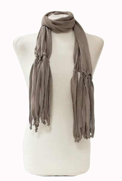 Scarf Women's In Gray. Sagittarius.