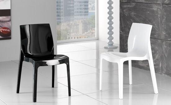 Chair ANTARCTICA, Polypropylene, Anthracite High Brightness