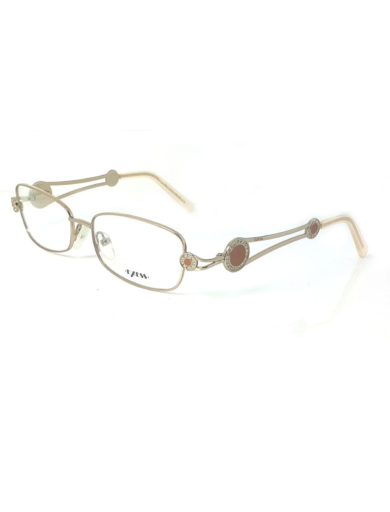 Markamilla Women Reading Glasses Frame Demo Glasses Eyewear Transparent High Quality WomenExess E 3285 100 52