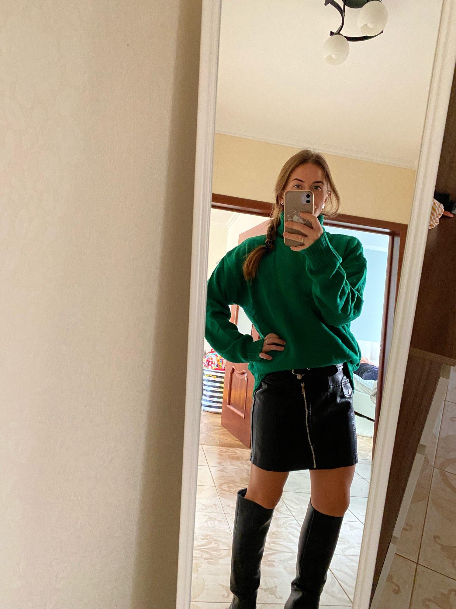 PU Leather A Line Skirt Women Belt Zipper High Waist Women's Mini Skirts Black 2021 Autumn Fashion Streetwear Bottoms Female|Skirts|   - AliExpress