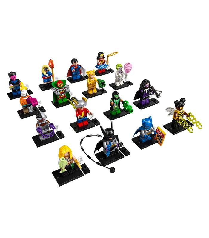 Box-DC Super Heroes Serials Toy Store