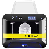 QIDI TECH 3D Printer X Plus Large Size FDM Impresora 3d Diy Kit Modular Design Printer 3d filament3D Printer Plastic