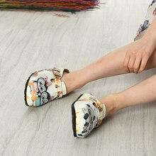 Digital Edition Twın Penguın Ans Panda Designed Women Closed Sabo Slıppers New Season Casual Sandals Soft Soled Woman Man Kids